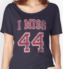 I Miss 44 Barack Obama Women's Relaxed Fit T-Shirt
