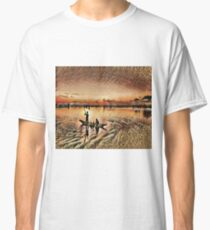 Early Morning Fishing Classic T-Shirt