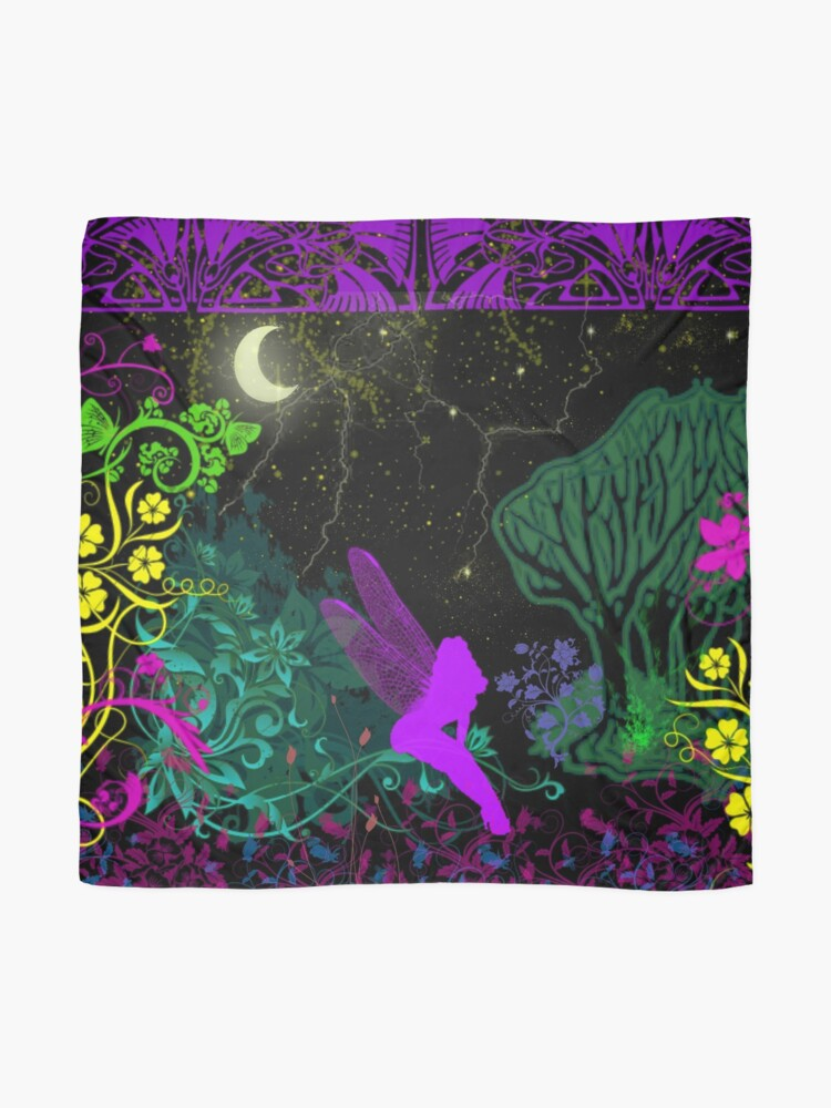 Alternate view of Moon Fairy by Julie Everhart Scarf