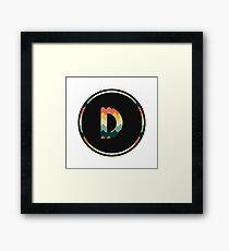 Alphabet D Framed Print