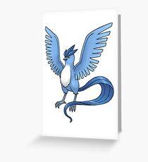 Articuno Pokemon Greeting Card
