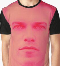 Aryan Pink Graphic T-Shirt