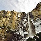 Icy Bridalveil Falls by everpresent