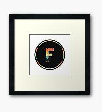 Alphabet F Framed Print