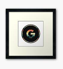 Alphabet G Framed Print