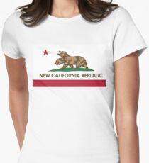 [HQ] NEW CALIFORNIA REPUBLIC Womens Fitted T-Shirt