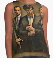The Government, The Detective, and the Doctor Contrast Tank