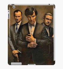The Government, The Detective, and the Doctor iPad Case/Skin
