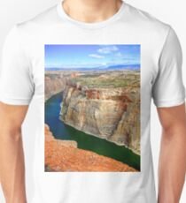 Winding Through the Canyon Unisex T-Shirt