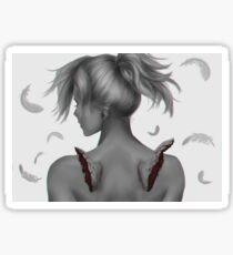 The Fallen Angel Sticker