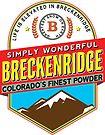 BRECKENRIDGE COLORADO Ski Skiing Mountain Mountains Skis Snowboard Snowboarding by MyHandmadeSigns