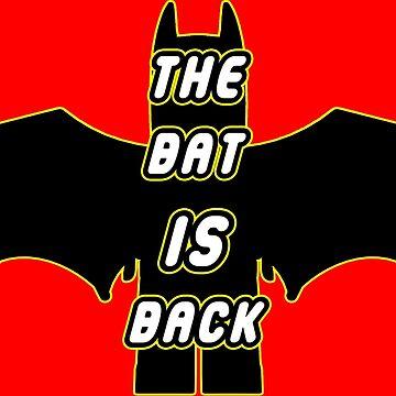 The BAT Is Back by PETRIPRINTS