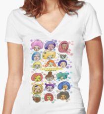 Representation Matters Women's Fitted V-Neck T-Shirt