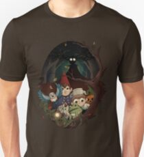 into the unknown unisex t shirt - Over The Garden Wall Merchandise