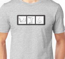 toe-knee-nose Unisex T-Shirt