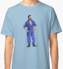 Aaron in Overalls Classic T-Shirt