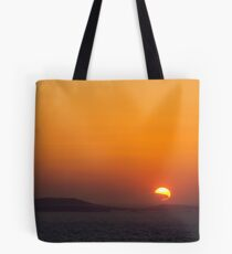 Sunset on the Med Tote Bag