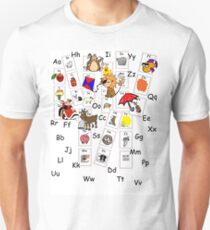 Alphabet Tee Unisex T-Shirt