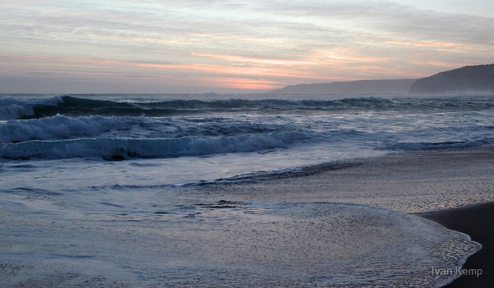 Joanna Beach Sunset by Ivan Kemp