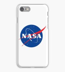 Nasa logo at the chest iPhone Case/Skin