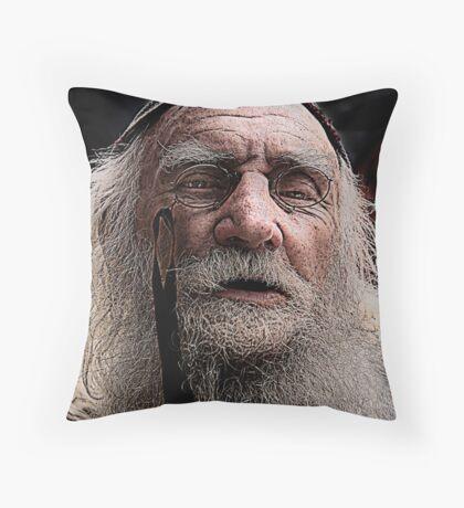 The Wizard Throw Pillow
