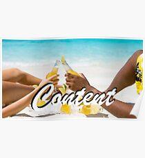 Content - Beach Poster