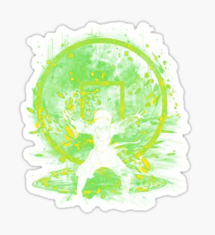 earth storm Sticker