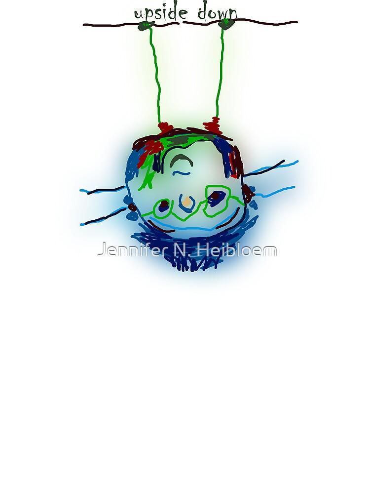 KidsArt for Kids- Upside Down by CowLickKidsCreations