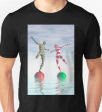 Balancing act Unisex T-Shirt