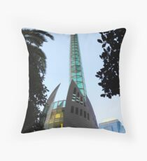 Perth Bell Tower Throw Pillow