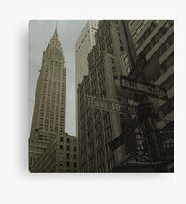 Industrious New York City Canvas Print