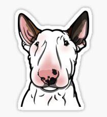 English Bull Terrier Snoop-y Sticker