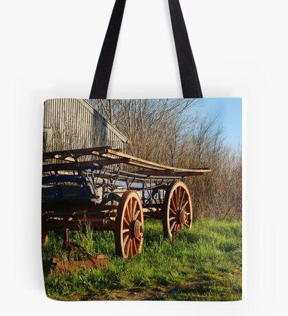 Old Cart, Ascot Victoria Tote Bag