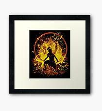 fire prince Framed Print