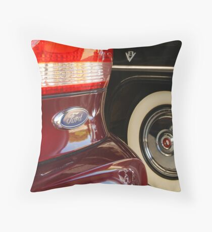 Fords, Old and New Throw Pillow
