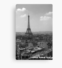 Eiffel Tower from the Arc Canvas Print