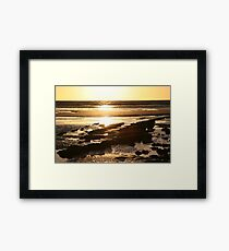 Torquay Sunrise Framed Print