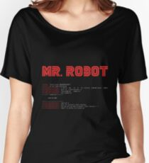 MR ROBOT fsociety00.dat Women's Relaxed Fit T-Shirt