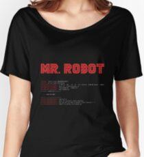 Camiseta ancha MR ROBOT fsociety00.dat