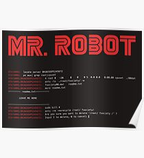 MR ROBOT fsociety00.dat Poster