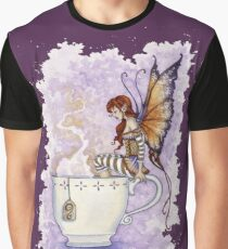 Warm Toes Tea Faery Graphic T-Shirt