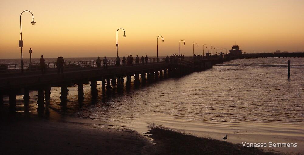 St Kilda Pier (2) by Vanessa Semmens