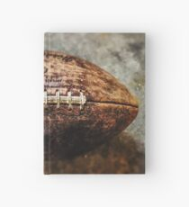 Vintage Football Hardcover Journal