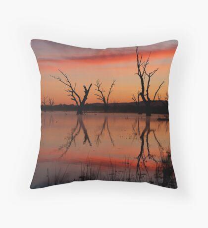 Lake Fyans Grampians Throw Pillow