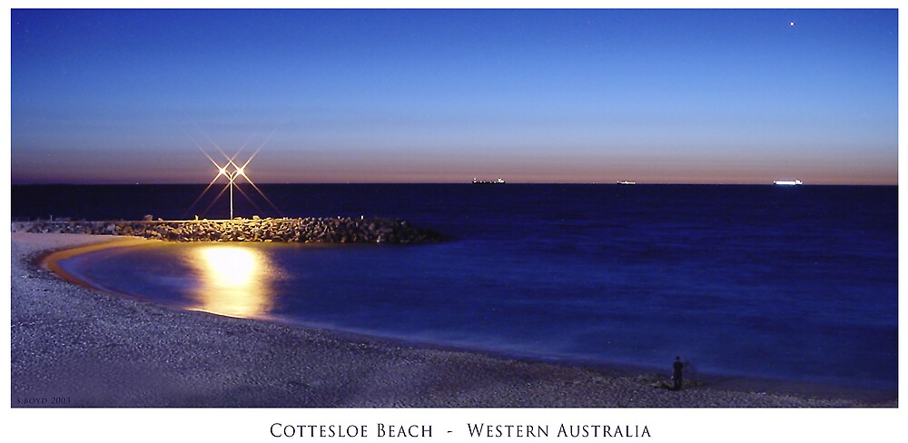Cottesloe Beach by Simon Boyd