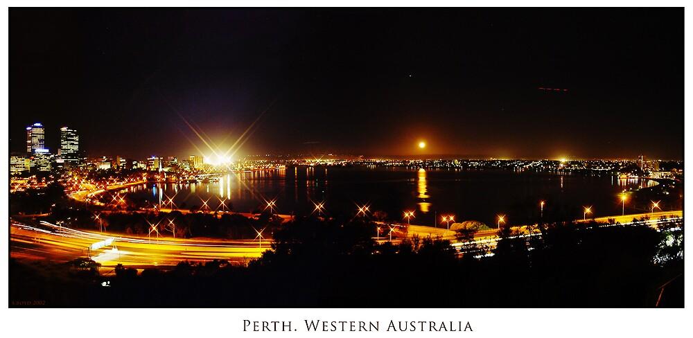 Perth at Night  by Simon Boyd