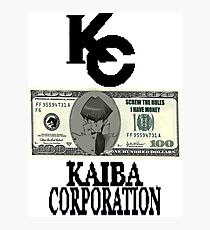 Kaiba Corporation - Screw The Rules  Photographic Print