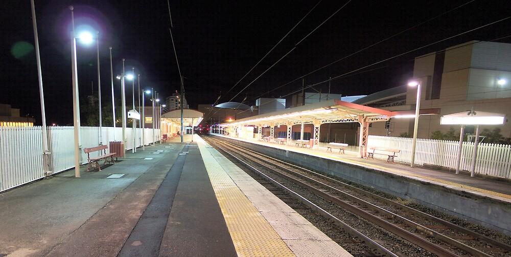 South Brisbane Train Station by aperture