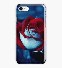 One Red Rose - High-Resolution Photo iPhone Case/Skin