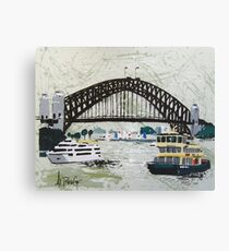 Sydney Harbour Bridge, Australia Canvas Print